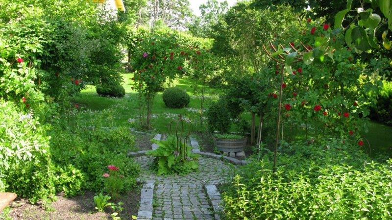 Trädgårdsskötsel, köksland, Stockholm